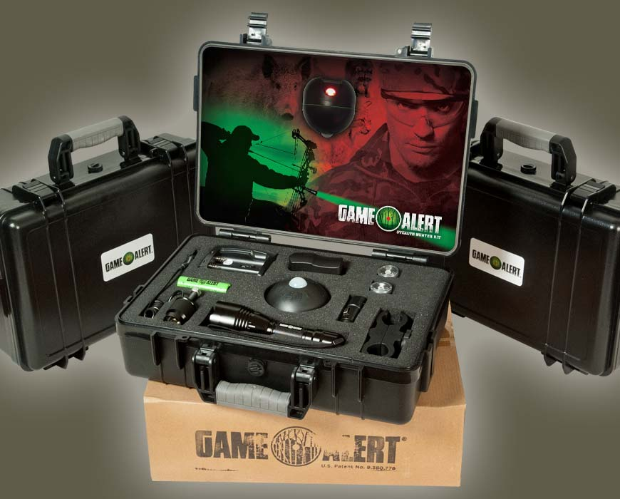 Game Alert Stealth Hunter Kit and Cases